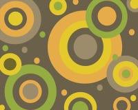 Retro cirkelsachtergrond Stock Foto