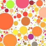 Retro cirkelsachtergrond Stock Afbeeldingen