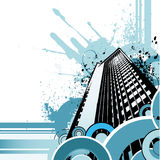 Retro city vector Royalty Free Stock Image