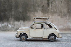 RETRO Classic Car Model. On the floor Royalty Free Stock Image