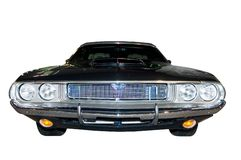 Retro Classic Dodge Challenger Stock Photo