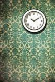 Retro Classic Wall Clock Wallpaper Stock Images