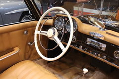 Retro Classics Exhibition - Old Mercedes Royalty Free Stock Photography