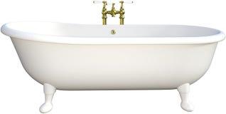 Free Retro Claw Foot Bathtub Isolated Royalty Free Stock Image - 86480636