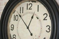 Retro clock Royalty Free Stock Photography