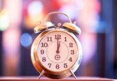 Retro clock Royalty Free Stock Image
