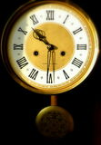 Retro clock Royalty Free Stock Photography