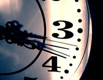 Retro clock Royalty Free Stock Image