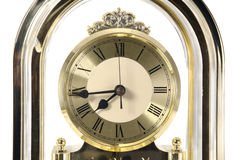 Retro clock face. Royalty Free Stock Photos