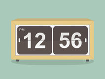 Retro clock.  illustration Stock Images