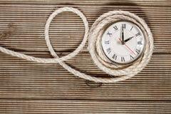 Retro clock Stock Photo