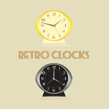 Retro Clocks Stock Images