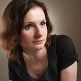 Retro close-up portrait Stock Image