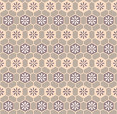 Retro cloth pattern Royalty Free Stock Photo