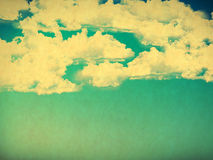 Retro cloudy sky Royalty Free Stock Photos