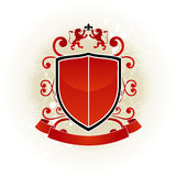 Retro Coat of Arms Royalty Free Stock Photography