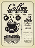 Retro coffee Royalty Free Stock Image
