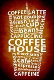 Retro Coffee Ad Background Royalty Free Stock Photo