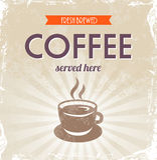 Retro Coffee Royalty Free Stock Photos