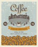 Retro coffee Stock Image