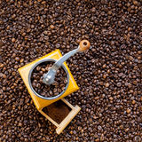 Retro coffee grinder Royalty Free Stock Photos
