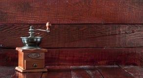 Retro coffee grinder Stock Photography