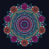 Retro coffee seamless pattern, tea background.  Royalty Free Stock Image