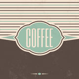 Retro Coffee Vintage Background Royalty Free Stock Images