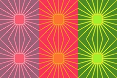 Retro colorful seamless pattern. Simple vector ornament for textile, prints, wallpaper, wrapping paper, web etc. vector illustration
