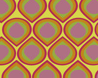 Free Retro Colorful Teardrops Collage Stock Images - 3924944