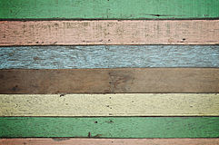 Retro colorful wood texture Stock Image