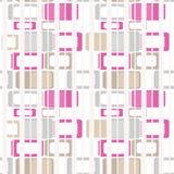 Retro colori del modello senza cuciture luminoso astratto geometrico degli elementi Immagini Stock Libere da Diritti