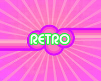 Retro colors background Stock Images