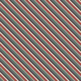 Retro colors diagonal stripes abstract background. Thin slanting line wallpaper. Seamless pattern with classic motif. Royalty Free Stock Images