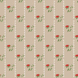 Retro colors geometrical floral pattern texture background Stock Image
