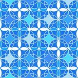 Retro colors seamless ornamental pattern background Royalty Free Stock Photos