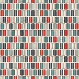 Retro colors vertical lines background. Minimalist wallpaper. Seamless pattern with geometric ornament. Stripes motif. Stock Photo