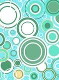 Retro Coloured Circles Royalty Free Stock Image