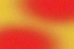 Retro comic red pink background raster gradient halftone vector illustration