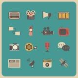 Retro communication icon Royalty Free Stock Images