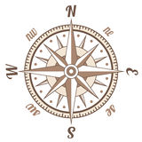 Retro compass Royalty Free Stock Photo