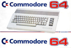 Retro Computer Commodore 64 Stock Images