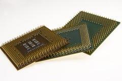 Retro computer components Royalty Free Stock Photo
