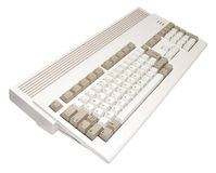 Retro Computer Console Stock Images
