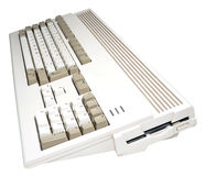 Retro Computer Console Royalty Free Stock Images