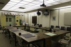 Retro conference room Stock Photos