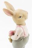 Retro coniglietto del maschio di Pasqua Immagine Stock
