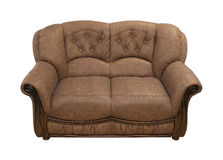 Retro couch Royalty Free Stock Photography