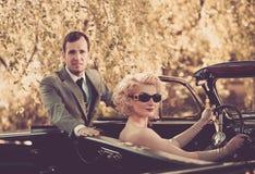Elegant couple Stock Photos