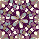 Retro Crazy Paving Seamless Pattern Royalty Free Stock Photos